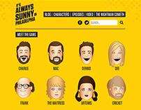 It's Always Sunny in Philadelphia Website