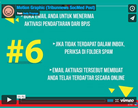 Motion Graphic (Tribunnews SocMed Post)