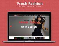 eCommerce web template