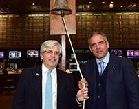 Luis Pérez Companc lanzó en la Bolsa la nueva compañía