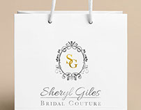 Sheryl Giles Bridal: Branding, Logo + Web Design