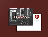Pronto - Conception du logo et de l'image de marque