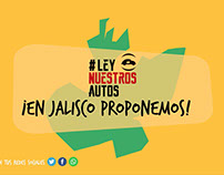 Ley Nuestros Autos - Motion Graphics