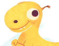 Cute Dino concept art