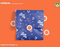 @happydaydesign.co x noissue Homepage - 04/27