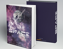 Space book cover