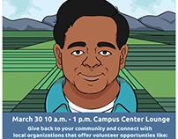Volunteer Fair to Honor Cesar Chavez