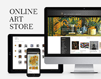 The online store of goods art