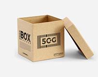 Free Open Box Mockup PSD