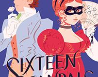 Houghton Mifflin Harcourt: Sixteen Scandals