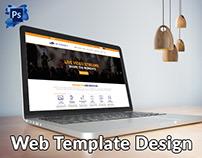 Online Video Streaming Websites Template Design