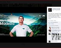Cristiano Ronaldo Campaign - Madeira Tourism