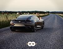 Automotive Design & Rendering : Aston Martin Vanquish