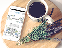 Emerge // Wellness Mobile App