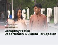 Profil Departemen T. Sistem Perkapalan ITS