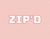 Zip Design - brand development and website