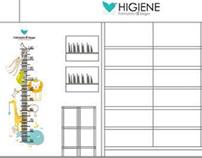 Diseño vinilos interiores y exteriores farmacia Vergel