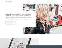 Reffiliate - App Website