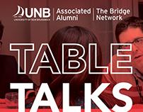 UNB Associated Alumni: Table Talks