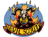 Evil Scout Merit Badges
