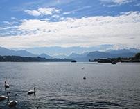 Landscape Lac des Quatre Canton Luzern - Switzerland