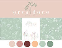 Erva Doce Plus Size | Logo Design