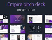 Empire Pitch deck