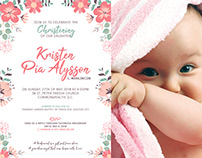 KPA - Christening Invitation