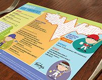 WAC Kid's Placemat Menu