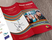 Brochure de la MJC de la ville d'Elbeuf