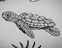 Tattoo design : Aquatic - Part II