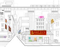 Dojo Series Background Cleanup/Design Set: Shop Fu'd