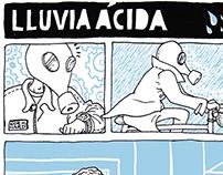 """Lluvia ácida"" (""Acid rain"")"