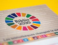 Logo research for Biblio2030