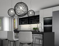 Black&White - Kitchen design in Sweden