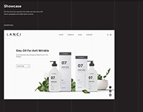 Lanci Cosmetic - Website Design