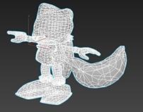 Tails, 3Dmax