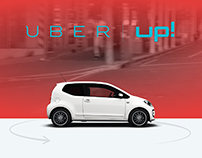 Volkswagen Uber up! Test Ride