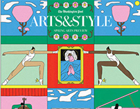 the Washington Post's Spring Arts Preview cover