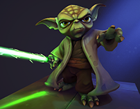 Yoda - Star Wars Fan Art