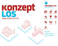 Website Konzeptlos Möbelwerkstätten