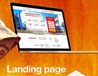 Landing Page — производство, поставка асфальта и бетона