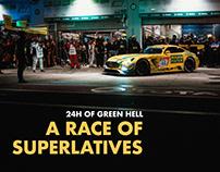 A RACE OF SUPERLATIVES. 24H OF GREEN HELL