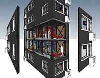Tatavla House Micro-Apartments