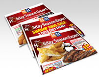 National Retailers Holiday Promotion Visuals
