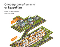LeasePlan | Poster | 3D graphics