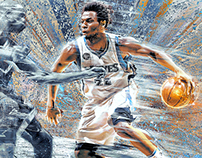 Andrew Wiggins NBA Art