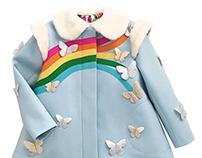 Rainbow Dreamer Coat Cinemagraph