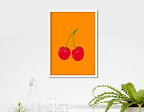 Fruit Collection Print Series