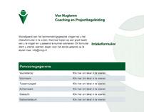 Intakeformulier, VNCP